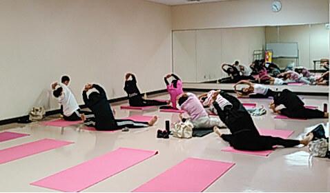 レディース健康運動プログラム「ヨガ教室」 活動写真